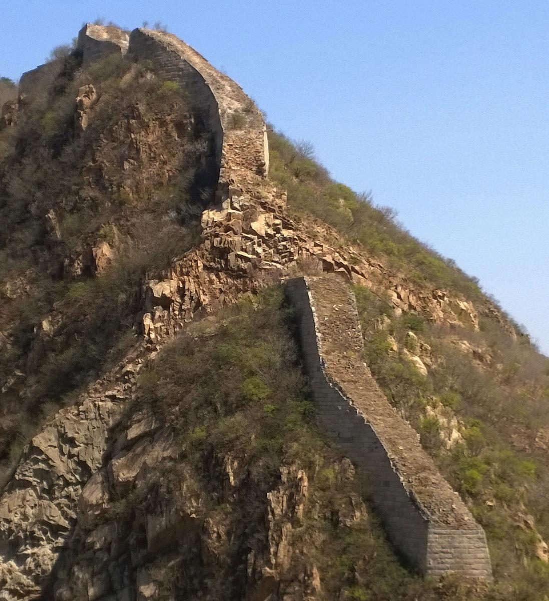 Bedrohtes Welterbe: Die Chinesische Mauer zerfällt