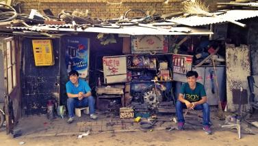 Die Jungs vom Schrottplatz; Peking